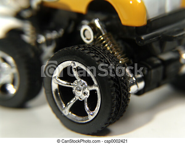 Toy Car Wheel - csp0002421