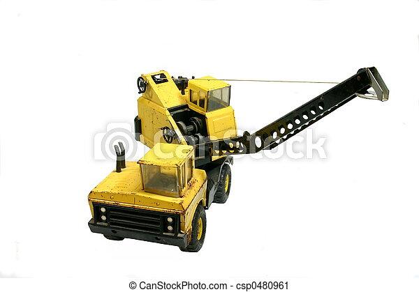 Toy Crane 2 - csp0480961