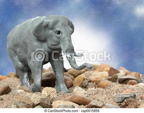 Toy Elephant - csp0015856