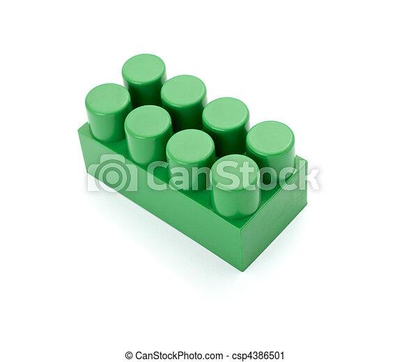 toy lego block construction education childhood - csp4386501