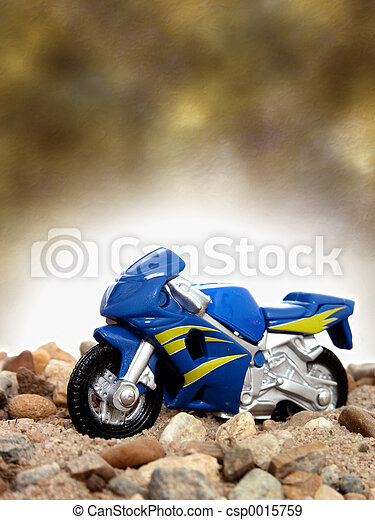 Toy Motorcycle - csp0015759