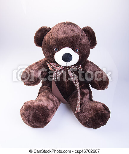 Toy or Teddy Bear on the background