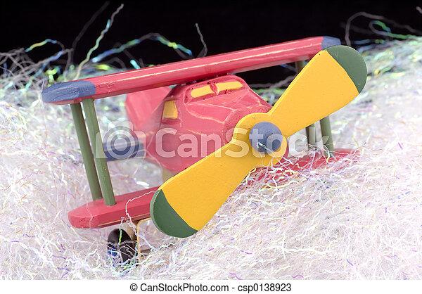 Toy Plane - csp0138923