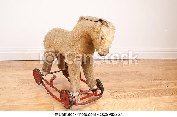 Toy rocking horse - csp9982257