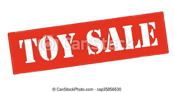 Toy sale - csp35856530