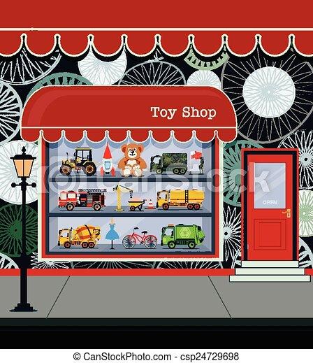 Toy Shop - csp24729698