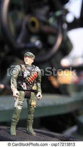toy soldier - csp17213813