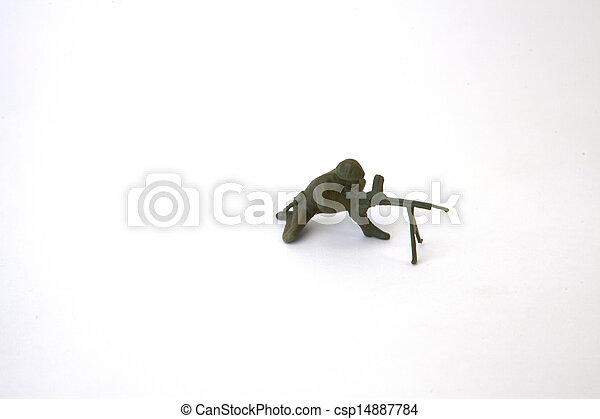 Toy Soldier - csp14887784