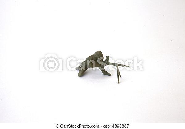 Toy Soldier - csp14898887