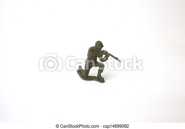 Toy Soldier - csp14899082