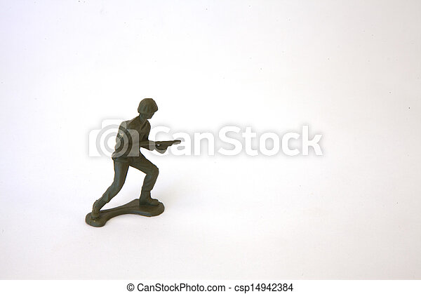 Toy Soldier - csp14942384