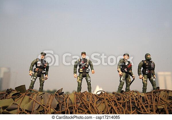toy soldier - csp17214085