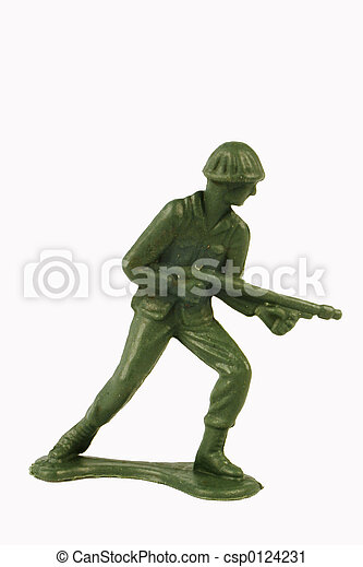 Toy Soldier Standing - csp0124231
