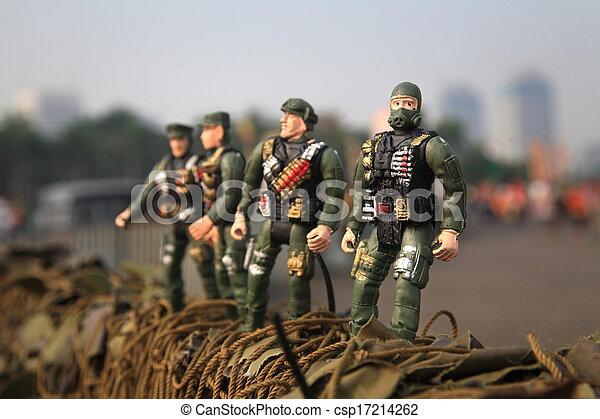 toy soldier - csp17214262