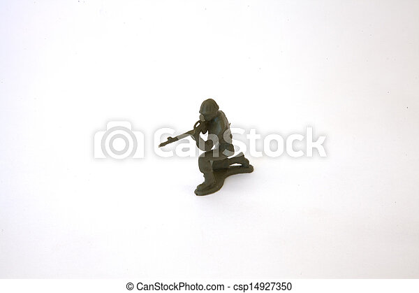 Toy Soldier - csp14927350