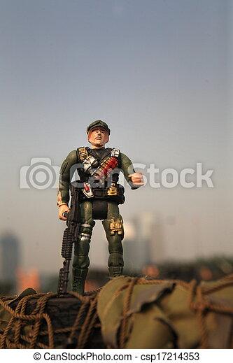 toy soldier - csp17214353