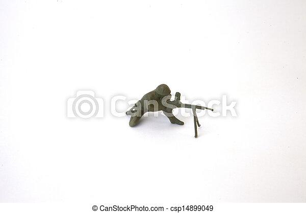 Toy Soldier - csp14899049