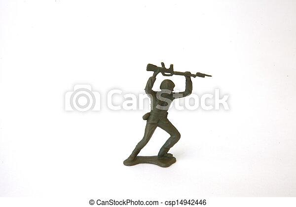 Toy Soldier - csp14942446