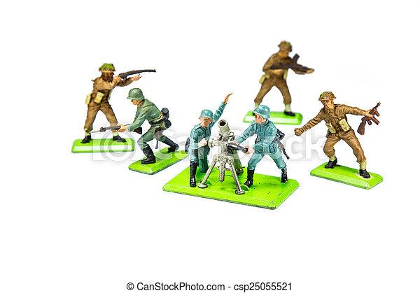 Toy Soldier - csp25055521