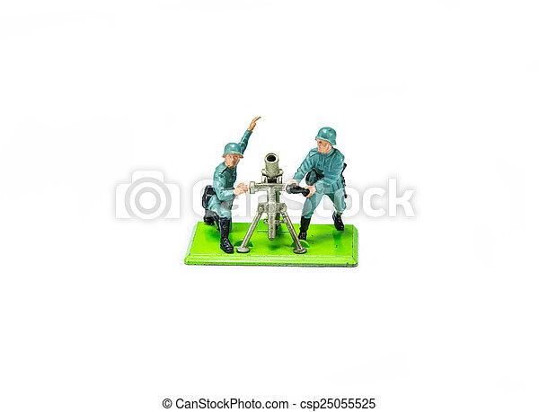 Toy Soldier - csp25055525