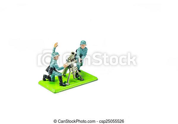 Toy Soldier - csp25055526
