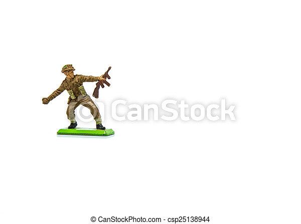 Toy Soldier - csp25138944