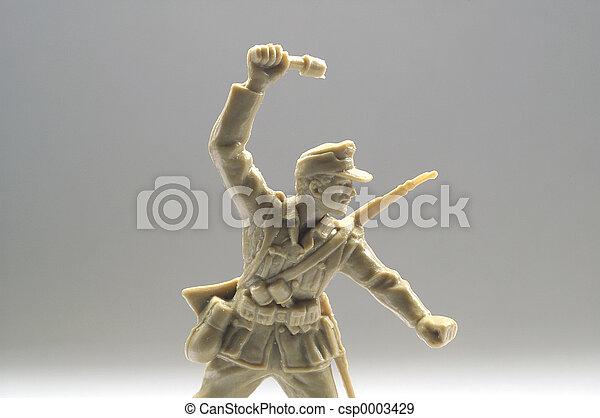 toy soldier - csp0003429