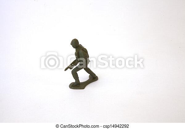 Toy Soldier - csp14942292