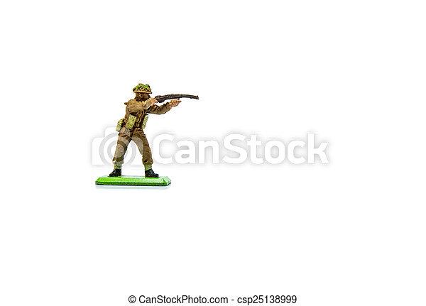 Toy Soldier - csp25138999