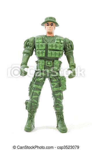 toy soldier - csp3523079