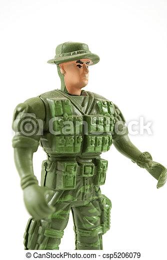 Toy Soldier - csp5206079