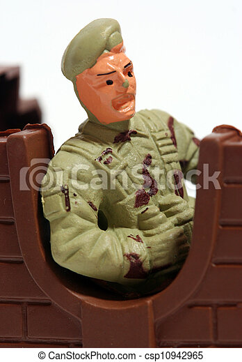 Toy soldiers. - csp10942965
