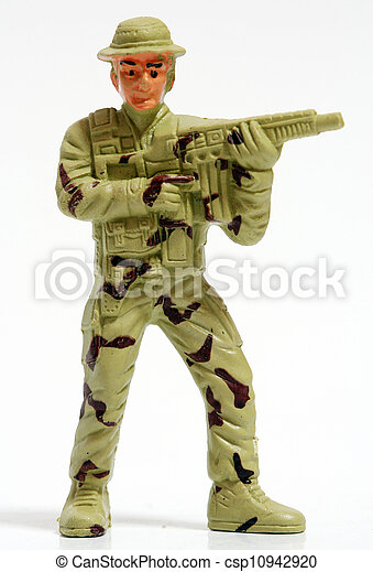 Toy soldiers. - csp10942920