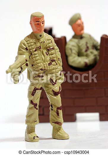 Toy soldiers. - csp10943004