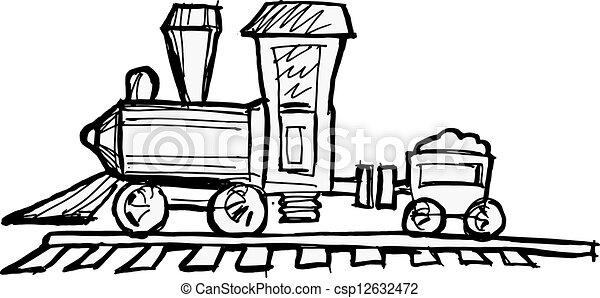 toy steam engine train rh canstockphoto com steam engine clipart images steam train clipart
