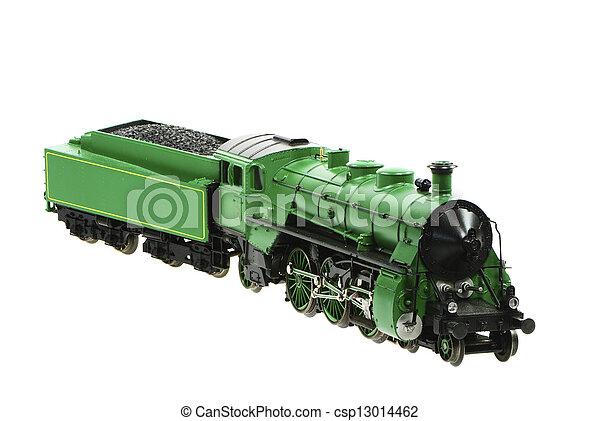 Toy Steam Locomotive - csp13014462