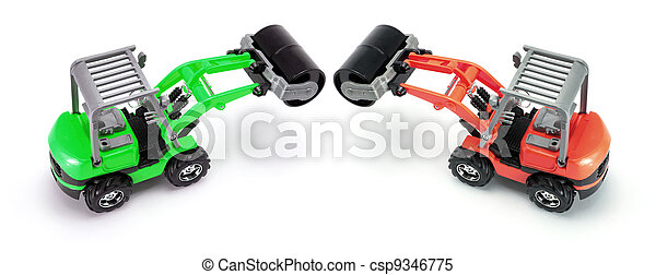 Toy Steam Rollers - csp9346775