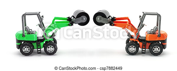 Toy Steamrollers - csp7882449