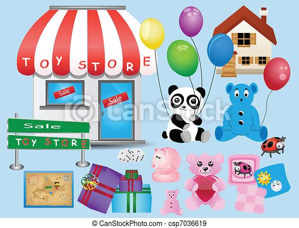 Toy Store Different Children S Toy