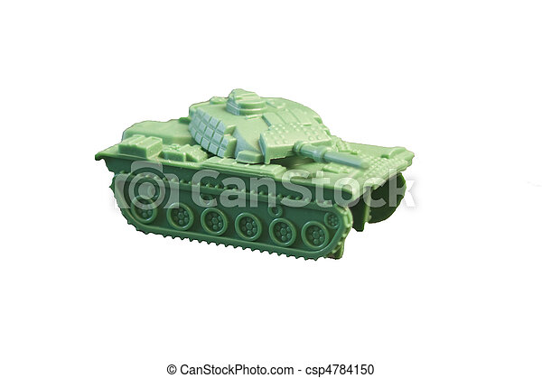Toy Tank - csp4784150