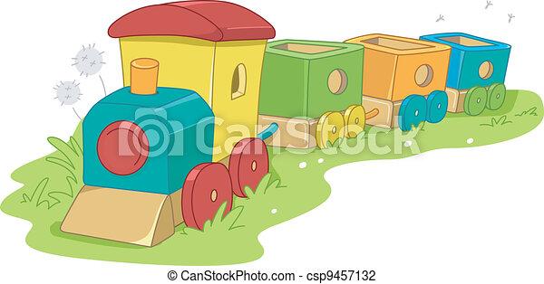 Toy Train - csp9457132