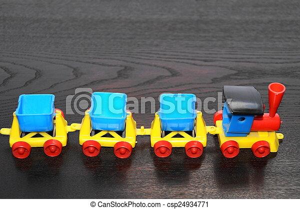 Toy train - csp24934771