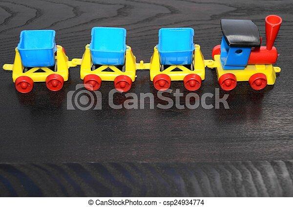 Toy train - csp24934774