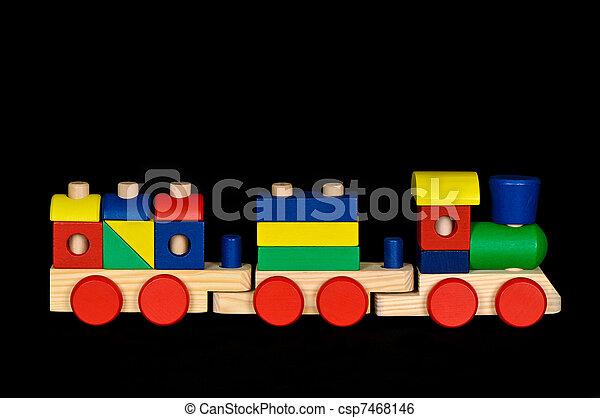Toy Train - csp7468146