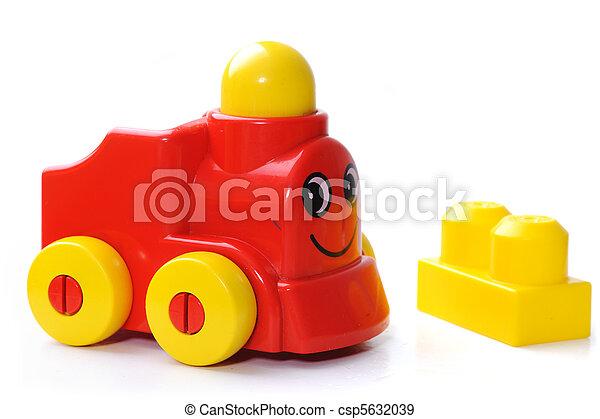 Toy train - csp5632039