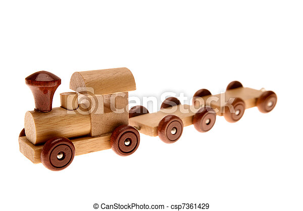 Toy train - csp7361429