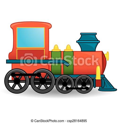 toy., treno, vector. - csp28164895
