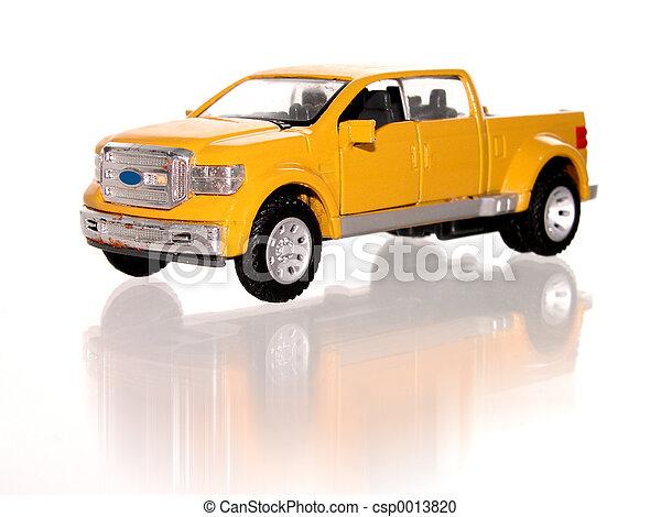 Toy Truck - csp0013820