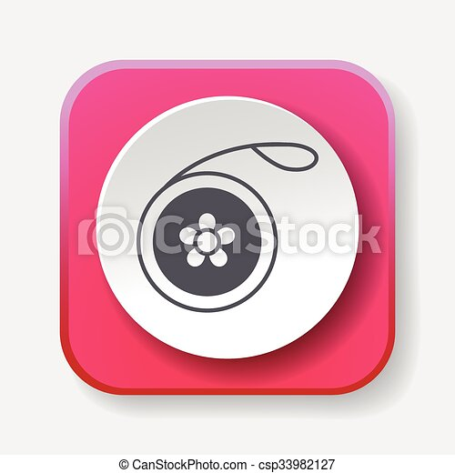 toy yo-yo icon - csp33982127