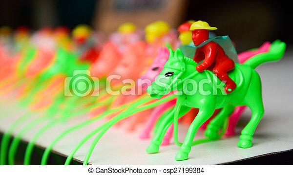 Toys horse for children - csp27199384